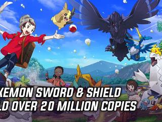 Pokemon Sword & Shield passed 20 million copies sold
