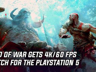God of War gets 4K/60fps patch for PlayStation 5