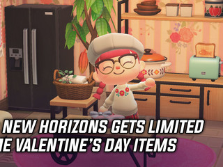 Animal Crossing New Horizons adds Valentine's Day items