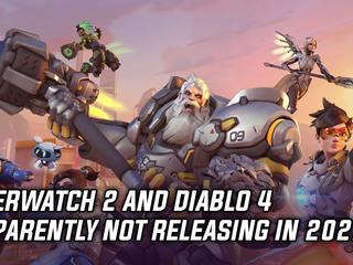 Overwatch 2 and Diablo 4 not releasing in 2021