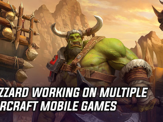 Multiple Warcraft mobile games are in development