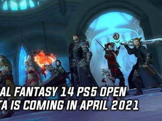 Final Fantasy 14 is getting a PlayStation 5 open beta