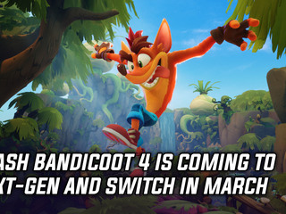 Crash Bandicoot 4 It's About Time is coming to next-gen consoles and Switch