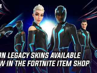 Fortnite gets new Tron Legacy skins and accessories