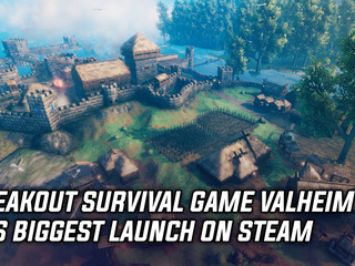 Valheim is Steam's biggest ever launch for a survival game