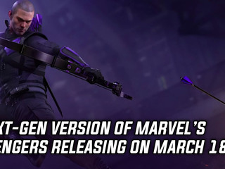Marvel's Avengers coming to next-gen consoles on March 18