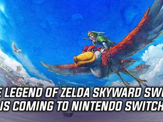 The Legend of Zelda: Skyward Sword HD is coming to Switch