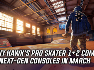 Tony Hawk's Pro Skater 1+2 is coming to next-gen consoles