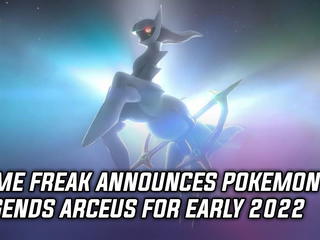 Game Freak announces Pokemon Legends Arceus for early 2022
