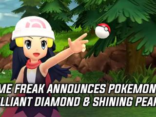 Game Freak announced Pokemon Brilliant Diamond and Shining Pearl