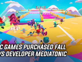 Epic Games buys Fall Guys developer Mediatonic