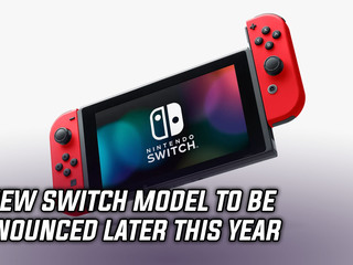 Report claims new Switch to be announced this year