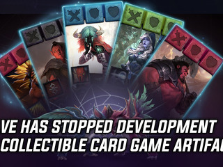 Valve ceases development on collectible card game Artifact