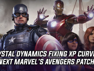 Crystal Dynamics to fix XP leveling curve for Marvel's Avengers