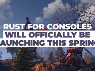 Rust is officially coming to consoles this Spring