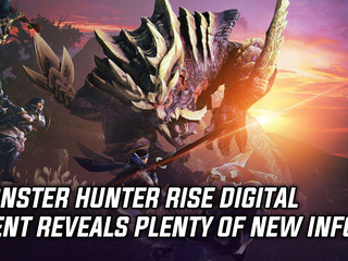 Capcom releases new info on Monster Hunter Rise