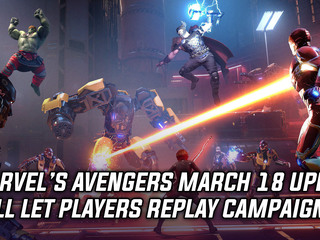 Marvel's Avengers getting replayable Campaign on March 18