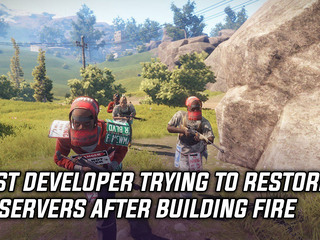 Rust developers are trying to salvage EU servers after building fire