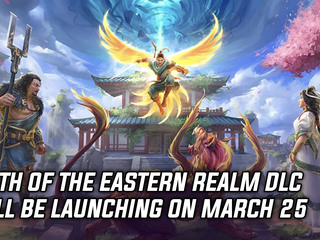 Myth of the Eastern Realm DLC will be launching on March 25