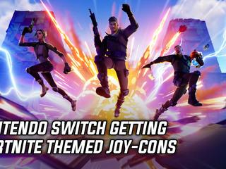 Nintendo Switch getting Fortnite themed Joy-Cons