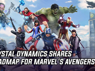 Crystal Dynamics shares roadmap for Marvel's Avengers