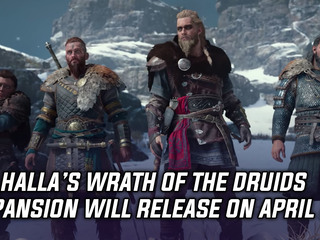 Valhalla's Wrath of the Druids expansion releases on April 29