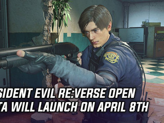 Resident Evil RE:Verse open beta will launch on April 8th