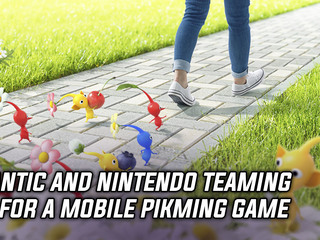 Niantic and Nintendo team up for a mobile Pikmin game