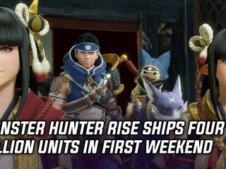 Monster Hunter Rise ships four million units in first weekend