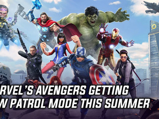 Patrol Mode coming to Marvel's Avengers this Summer