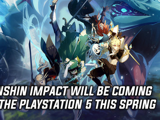 Genshin Impact getting a PS5 version in Spring
