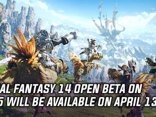 Final Fantasy 14 PS5 open beta happening on April 13