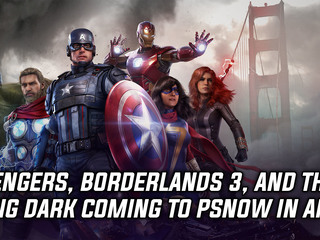 PS Now is getting Avengers, Borderlands 3 and The Long Dark on April 6