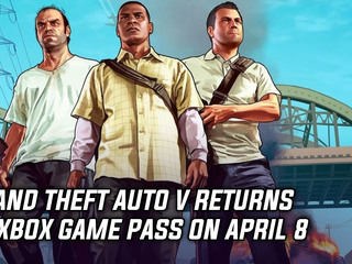 Grand Theft Auto V returns to Game Pass on April 8
