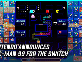 Nintendo announces Pac-Man 99 for the Switch