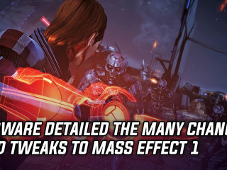 Bioware describes changes to Mass Effect 1 in Legendary Edition
