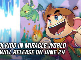 Alex Kidd in Miracle World DX will release on June 24