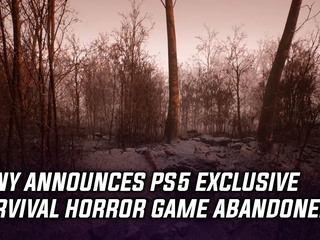 PS5 exclusive survival horror game Abandoned announced