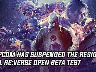 Capcom has suspended the Resident Evil Reverse Open Beta Test