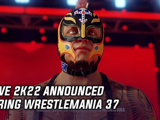WWE 2K22 announced during Wrestlemania 37