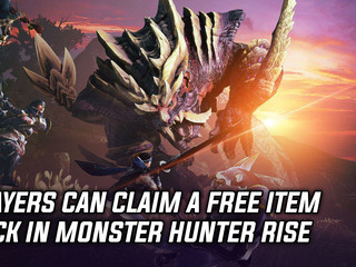 Players can claim a free item pack in Monster Hunter Rise