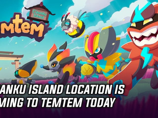 Cipanku Island location is coming to Temtem today