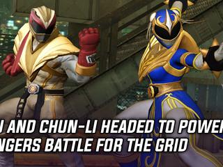 Ryu and Chun-Li headed to Power Rangers Battle for the Grid