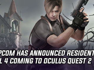Capcom has announced Resident Evil 4 coming to Oculus Quest 2