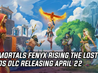 Immortals Fenyx Rising The Lost Gods DLC launching April 22