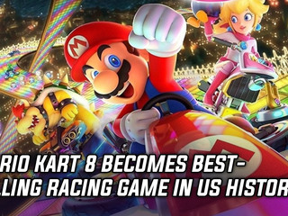 Mario Kart 8 becomes best-selling racing game in US history