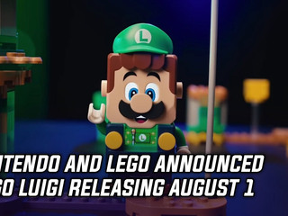 Nintendo and LEGO announced LEGO Luigi releasing August 1