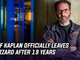 Jeff Kaplan officially leaves Blizzard after 19 years
