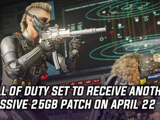 Call of Duty receiving big 25GB update on April 22