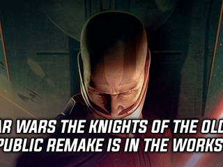 Knights of the Old Republic remake being worked on by Aspyr